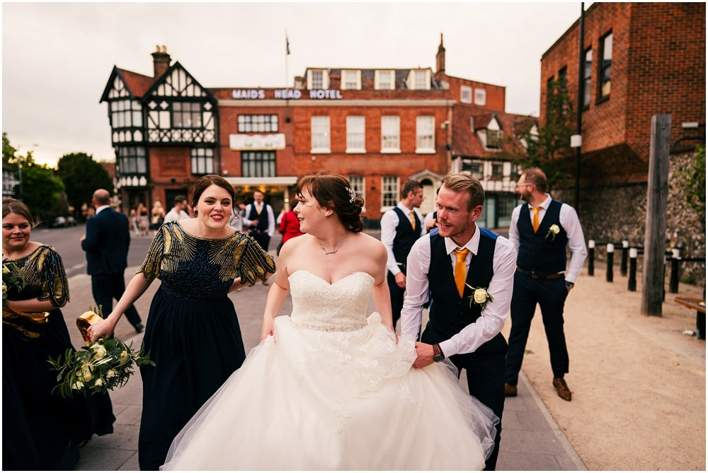 NORWICH CITY WEDDING