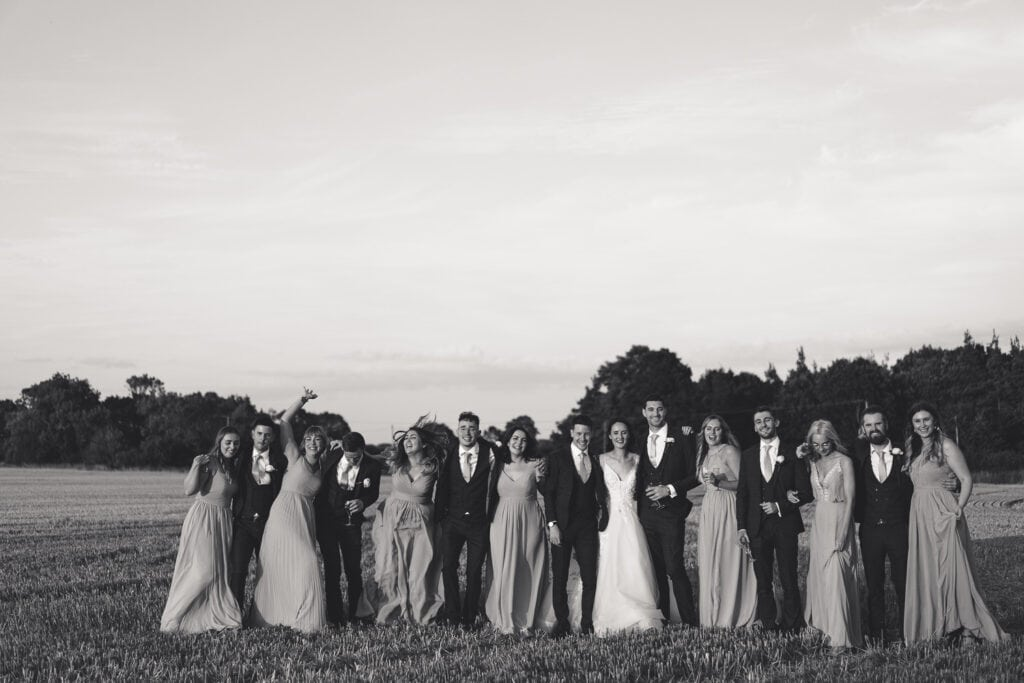 ELMS BARN BRIDAL PARTY