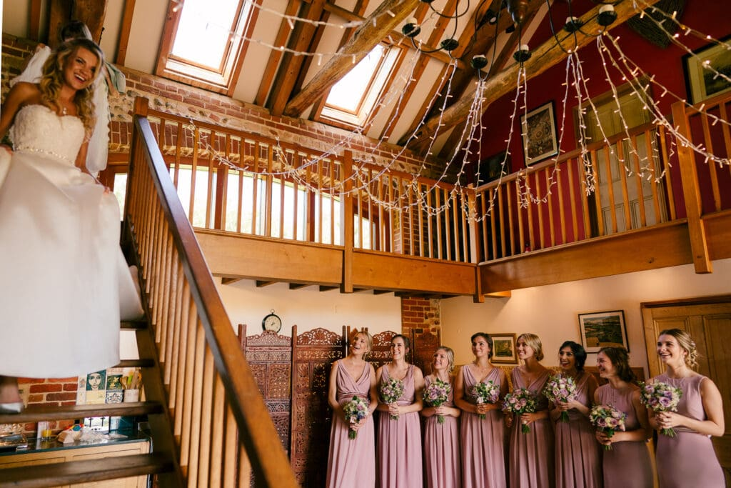 a chaucer barn wedding