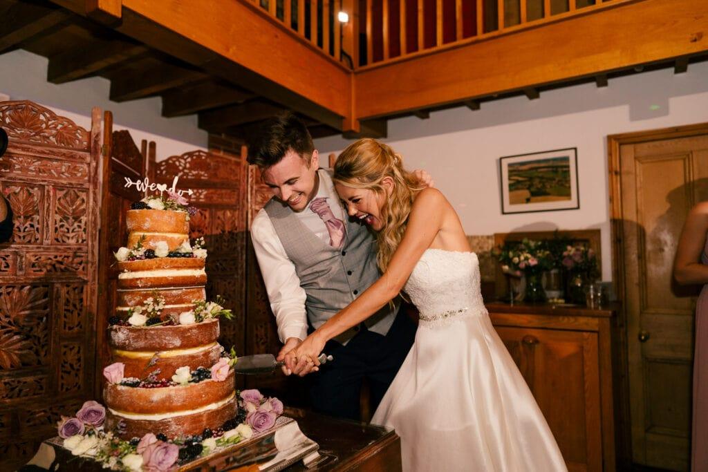 a chaucer barn wedding