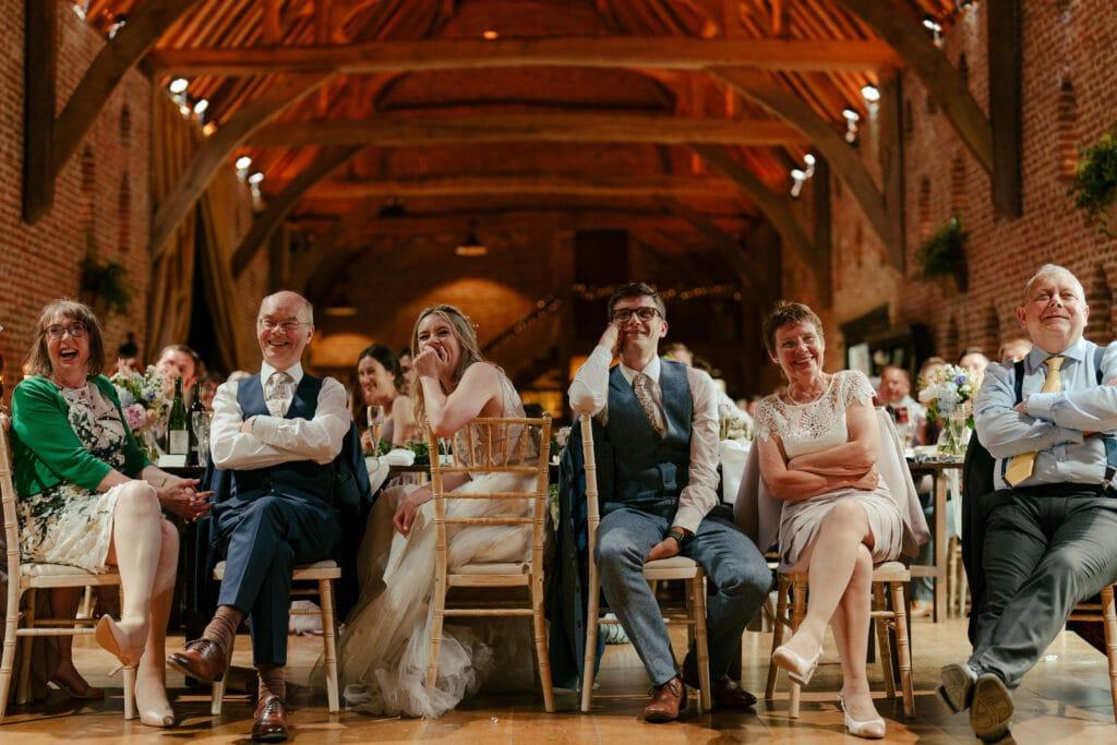 HALES HALL AND THE GREAT BARN WEDDING